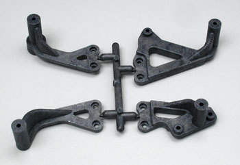 Associated 2255 FT Carbon Chassis Braces NTC3