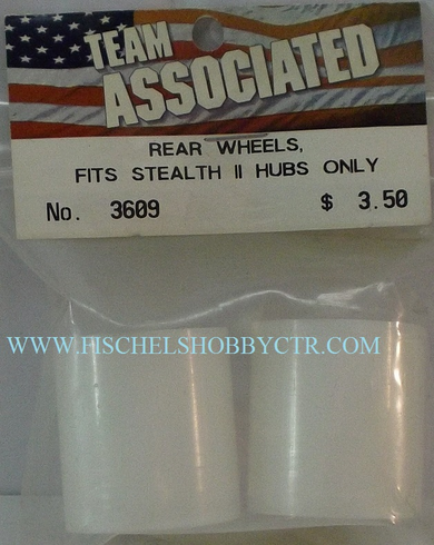 Associated 3609 Rear Wheels Fits Stealth II hubs only