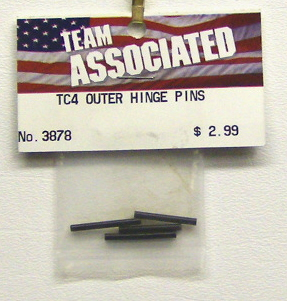 Associated 3878 TC4 Outer Hinge Pins