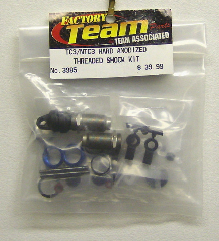 Associated 3985 Threaded Shock Kit TC3