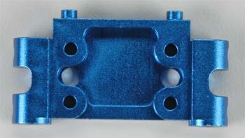 Associated 7990 Aluminum Front Bulkhead Blue GT2