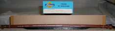 Athearn 2003 86' flat car North American car corporation N.A.F.X. 102