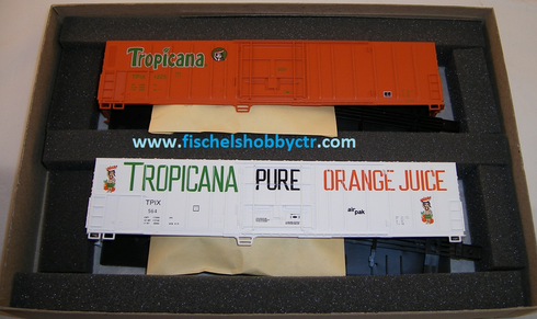 Athearn 2302 Special Edition 2 Tropicana 57' Box cae Reefers #'s 564 & 1225 HO