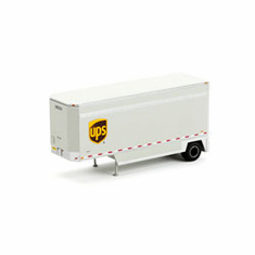 Athearn 29403 HO RTR 28' Drop Sill Parcel Trailer, UPS #285224