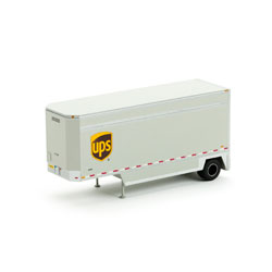 Athearn 29406 HO RTR 28' Drop Sill Parcel Trailer, UPS #292820