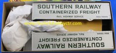 Athearn 5159 Southern 40 foot trailer (2) KIT HO