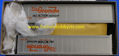 Athearn 5605 45 foot trailer Rio Grande KIT HO