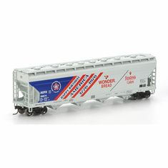 Athearn 72295 HO RTR ACF 4-Bay CF Hopper, Wonder Bread #56671