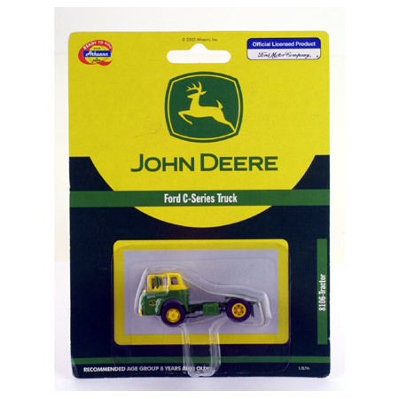Athearn 8106 HO RTR Ford C Tractor, John Deere/Yellow