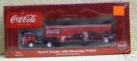 Athearn 8232 Ford C tractor with beverage Trailer