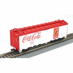 Athearn 8321 HO RTR 40' Steel Reefer, Coke It's the Real Thing