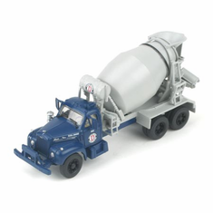 Athearn 93164 HO RTR Mack B Cement Truck, Ready Mix Concrete