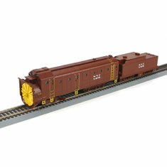 Athearn 93806 HO RTR Rotary Snowplow, NYC #X-670 UNPOWERED
