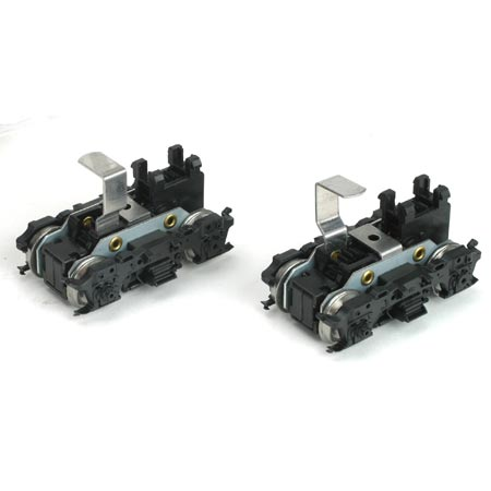Athearn ATH46011 HO Front/Rear Power Truck Set, M-Blomberg