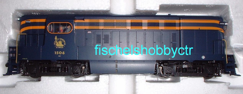 Atlas 9504 H15-44 Loco Jersey Central #1506 HO