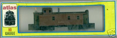 Atlas Stander Caboose Brown#9068 Ho Scale