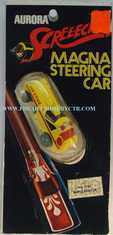 Aurora 5782 Screeechers Magna Steering car Rapid Rescue HO slot car