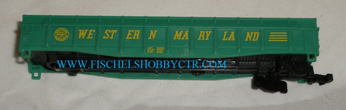 Aurora N scale Western Maryland Gondola for parts