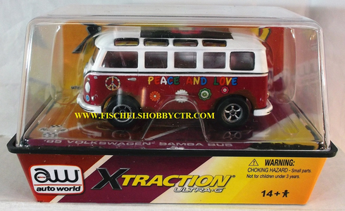 Auto World 65 VW Micro bus Purple/white X-traction Ultra G