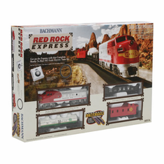 Bachmann 00678 HO Santa Fe Red Rock Express Train Set