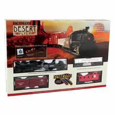 Bachmann 00720 HO Desert Flyer Train Set, SF