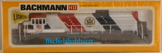 Bachmann 0640 U36B powered Spirit of ' Seaboard Coast Line HO