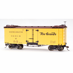 Bachmann 27418 On30 Spectrum Billboard Reefer, D&RGW
