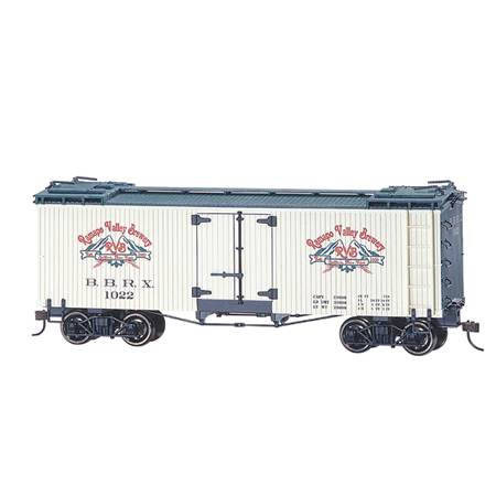 Bachmann 27470 On30 Spectrum Billboard Reefer, Rampo Valley
