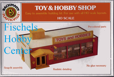 Bachmann 2931 Toy & Hobby Shop HO snap kit
