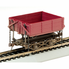 Bachmann 29801 On30 Spectrum Wood Side Dump Car (3)