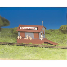 Bachmann 45171 HO Snap KIT Freight Station