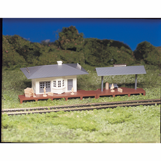 Bachmann 45173 HO Snap KIT Suburban Station