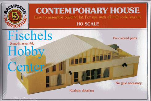 Bachmann 45432 Contemporary House HO snap kit