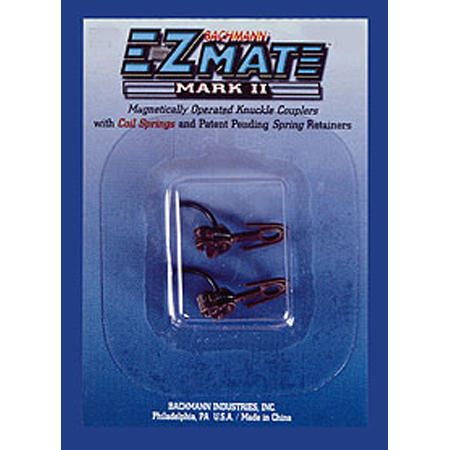 Bachmann 78022 HO EZ Mate Mark II Over Knuckle Coupler, Medium (12)