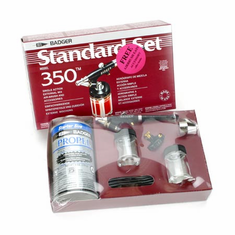 Badger BAD3503 350 Airbrush Set with Propellant