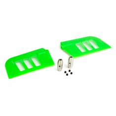 Blade BLH1828GR Flybar Paddle Set, Green: B500 3D