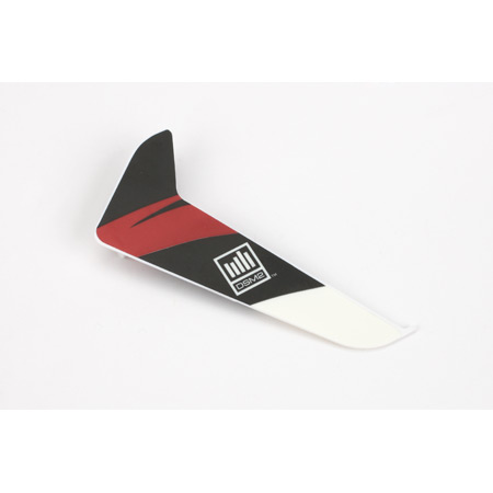 Blade BLH3120R Vertical Fin with Red Decal: 120SR
