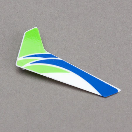 Blade BLH3520G Green Vertical Fin with Decal: mCP X