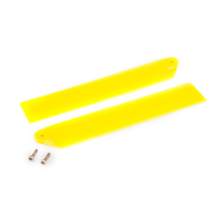 Blade BLH3610YE Hi-Performance Main Rotor Blade Set Yellow: mCP X