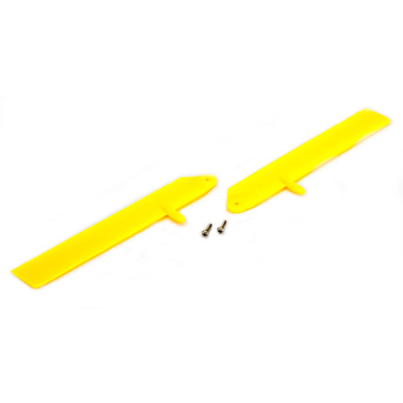 Blade BLH3611YE Fast Flight Main Rotor Blade Set Yellow: mCP X