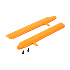 Blade BLH3715OR Fast Flight Main Rotor Blade Set, Orange: 130 X
