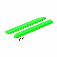 Blade BLH3716GR Hi-Performance Main Rotor Blade Set, Green: 130 X
