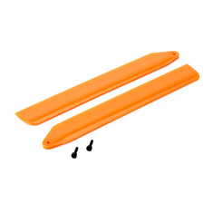 Blade BLH3716OR Hi-Performance Main Rotor Blade Set Orange: 130 X