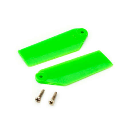 Blade BLH3733GR Tail Rotor Blade Set, Green: 130 X