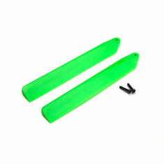 Blade BLH3908GR Green Hi-Performance Main Blade Set: mCP X BL