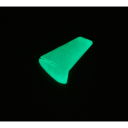 Blade EFLH2228GL Vertical Fin, Glow in the Dark without Decals:BMCX