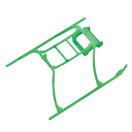 Blade EFLH3004GL Glow In The Dark Landing Skid & Battery Mount:BMSR