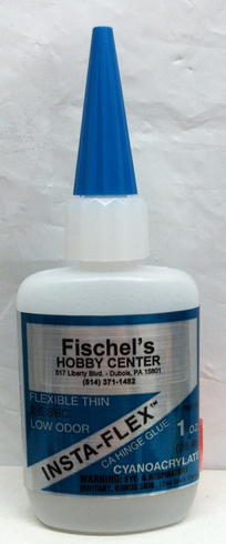 Bob Smith Industries #119 Flexible Thin Cyanoacrylate (CA glue) 1oz