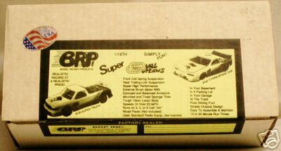 BRP Super Oval Outlaws T-Type Stock Car 1/18 Scale R/C