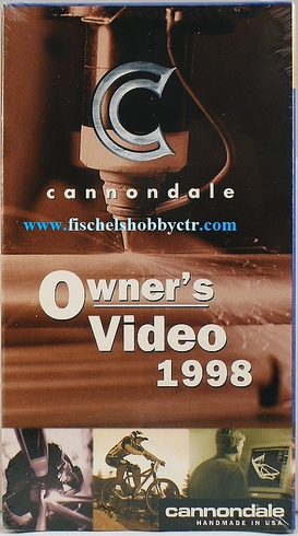 Cannondale Owner's Video 1998 VHS
